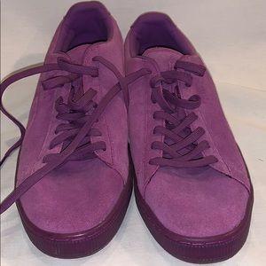 Purple Suede Pumas! US14